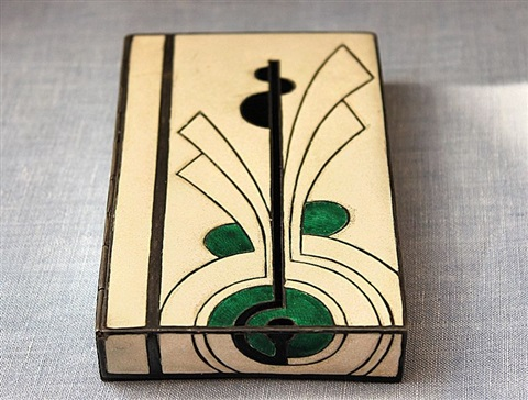 French Art Deco Box by Jean Goulden on artnet