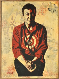 jasper johns by shepard fairey