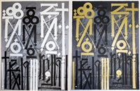 eastern realm (set of 2 works) by retna