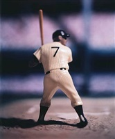 baseball (mickey mantle) - from david levinthal: baseball series by david levinthal