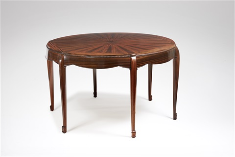 table ronde de salon round table by louis süe and andré mare on artnet
