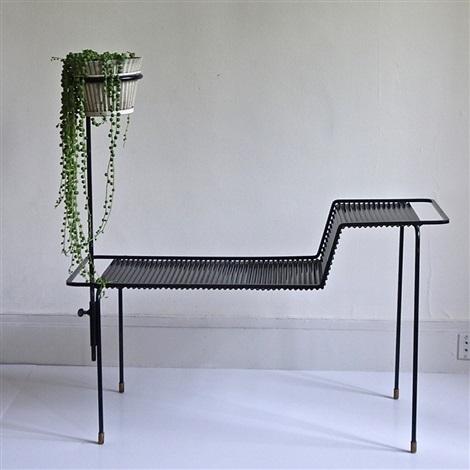 Table porte plante by mathieu mat got on artnet for Porte plante