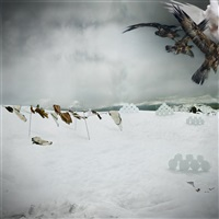 Snowscape with Owls, 2003