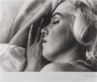marilyn monroe, sleeping by bert stern