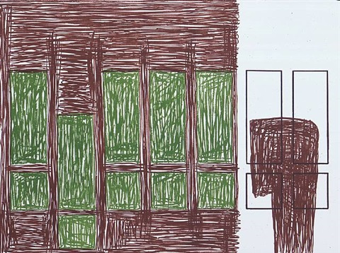 natural placement by jonathan lasker