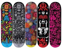 skate decks (set of 5) by ryan mcginness
