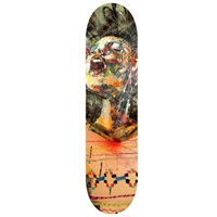 skate deck by david choe