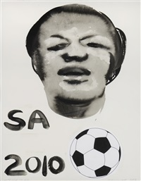 world cup sa 2010 by marlene dumas