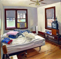 our bedroom in daylight by andrew lenaghan