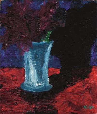 vase mit blumen by emil nolde on artnet. Black Bedroom Furniture Sets. Home Design Ideas
