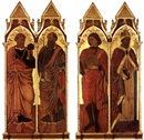 Attributed To Antonio Alberti (da Ferrara), Saints Peter and Paul