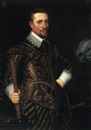 Anthony van Ravesteyn the Younger, A Portrait of a Nobleman as an Officer
