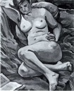 Robert Hallowell, RECLINING NUDE