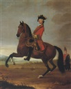 David Morier, EQUESTRIAN PORTRAIT OF AN OFFICER OF THE 4TH TROOP OF HORSE