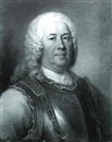David Miller, PORTRAIT OF GENERAL MAJOR GASPARD FONTENAY, BUST LENGTH, WEARING A BREAST PLATE