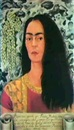 Frida Kahlo, AUTORRETRATO CON PELO SUELTO (SELF-PORTRAIT WITH LOOSE HAIR)