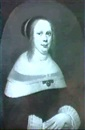 Anthony van Ravesteyn the Younger, PORTRAIT OF A LADY, HALF LENGTH, WEARING A BLACK COSTUME WITH WHITE LACE COLLAR AND CUFFS