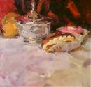 Mark Daily, STILL LIFE WITH SUGAR BOWL ANDECLAIRS