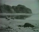 Albert William Ayling, DOUBTFUL WEATHER, PENMAENMAUR, NORTH WALES