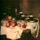 Macha Molodykh, NATURE MORTE A LA POMME ROUGE