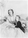 Isabel Oakley Naftel, PORTRAIT OF ANNA-MARIA HORTON, NEE HAMILTON, OF SUNDRUM