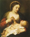 Attributed To Antonio de Pereda y Saldago, Madonna and Child