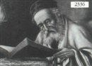 Cioffi, Portrait of Rabbi reading