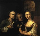 Philipp Haller, A BETROTHAL PORTRAIT THOUGHT TO BE THE ARTIST PAUL TROGER   AND HIS WIFE
