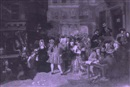 After Edward Matthew Ward, The South Sea bubble: a scene in Change Alley in 1720