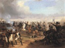 Edmund Friedrich Rabe, Battle scene