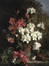 Martha Darley Mutrie, Still life with azaleas