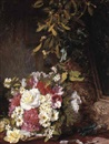 Martha Darley Mutrie, Christmas-'These flowers are like the pleasures of the world'