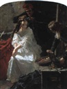 Edward Matthew Ward, La toilette des morts-Charlotte Corday in the prison of the Conciergerie...