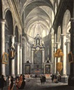 Wilhelm Schubert van Ehrenberg, A Baroque church interior