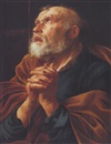 Attributed To Hendrick ter Brugghen, Saint Peter in Penitence