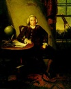 Attributed To David Allan, Portrait of James Ferguson, astronomer