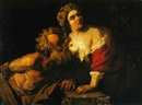 After Hendrick ter Brugghen, Roman charity