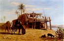 Robert Dowling, A well on the banks of the Nile