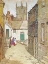 Mary Nicholena MacCord, English village scene