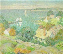 Mary Nicholena MacCord, Looking toward the sea, St. Ives, Cornwall