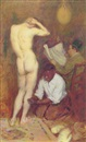 Philip Leslie Hale, The rub down