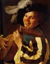 Hendrick ter Brugghen, A singing lute player