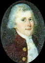 Joseph Dunkerley, Daniel Dunbar, wearing brown coat with gold coloured buttons