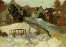 Archibald Russell Watson Allan, The village lane