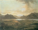 Attributed To Jonathan Fisher, An extensive view of the lakes and mountains of Killarney