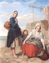 Urbain James Bouvier, The fisherwomen