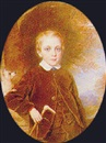 Reginald Easton, Portrait of a young boy, three quarter length