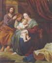 Flemish School-Liège (18), The Holy Family