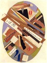 Joseph Brauner, Komposition in Oval