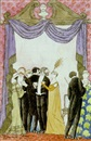 Edward Gorey, Fashionable partiers tempted by television